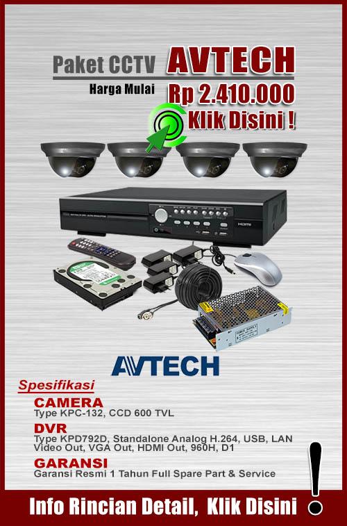 paket cctv murah avtech
