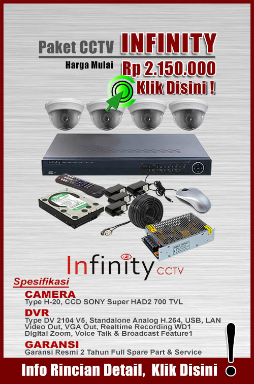 paket cctv murah infinity
