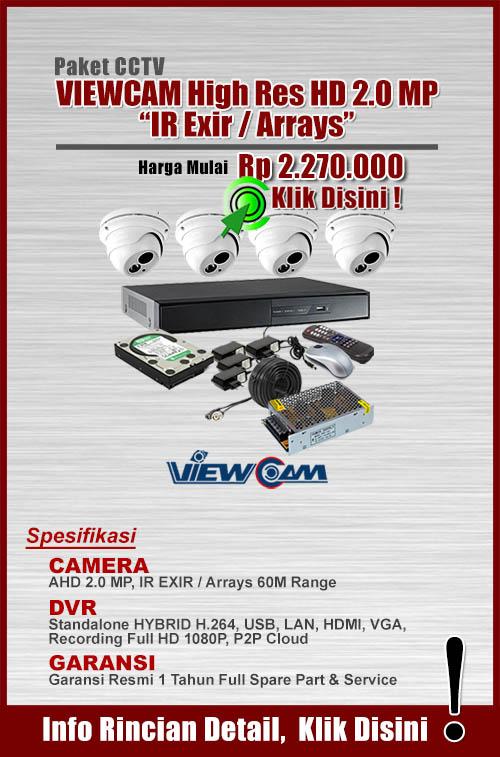 paket cctv murah paket HD