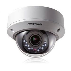 Hikvision-DIS-DS-2CE5582P(N)-VPIR2 600TVL Vari-focal Vandal proof and Weather proof IR Dome Camera