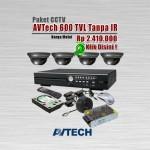 Paket-CCTV-AVTech-600-TVL-Tanpa-IR
