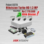 Paket-CCTV-Hikvision-Turbo-HD-1.3MP