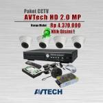 Paket-CCTV-AVTech-HD-1080P
