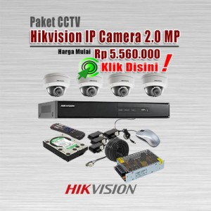 Paket-CCTV-Hikvision-IP-CAM-2MP