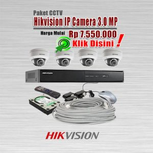 Paket-CCTV-Hikvision-IP-CAM-3MP
