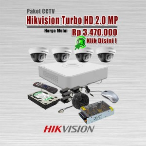 Paket-CCTV-Hikvision-Turbo-HD-2MP