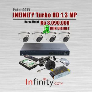 Paket-CCTV-Infinity-Turbo-HD-1.3MP