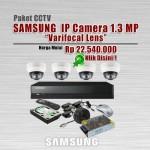 Paket-CCTV-Samsung-IP-CAM-1.3MP-Varifocal
