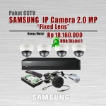 Paket-CCTV-Samsung-IP-CAM-2MP-Fixed