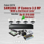 Paket-CCTV-Samsung-IP-CAM-3MP-WDR-Varifocal