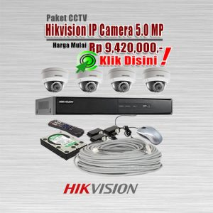 Paket-CCTV-Hikvision-IP-CAM-5MP