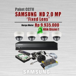 Paket-CCTV-Samsung-HD-2MP-Fixed