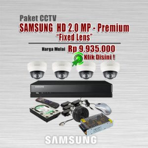 Paket-CCTV-Samsung-HD-2MP-Premium-Fixed
