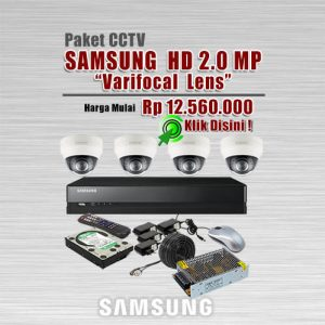 Paket-CCTV-Samsung-HD-2MP-Varifocal