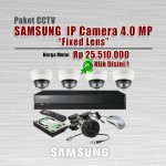 Paket-CCTV-Samsung-IP-CAM-4MP-Fixed